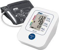 A&D Medical Blood Pressure Monitor Cuff Upper Arm Blood Pressure Machine Home Use UA-611