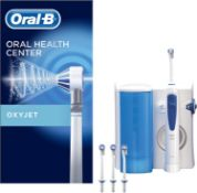 RRP £68 Oral-B OxyJet cleaning system, with micro air bubble technology, 4 push-on nozzles