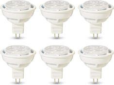 AmazonBasics Professional LED GU5.3 MR16 Spotlight Bulb, 35W equivalent, Cool White, Dimmable - Pack