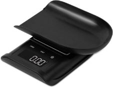 Salter Digital Pocket Kitchen Scale - Electronic Micro Measuring Tool, Precision Baking/Cooking, Com
