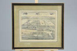 ~ JOHANNES KIP, WALDERSHARE THE SEAT OF SIR ROBERT FURNESE BARONETT, engraving, framed, plate 35.5cm