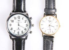 A Pulsar wristwatch and a Taristock & Jones watch