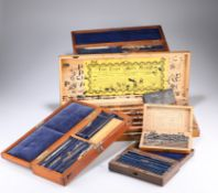 """~ TWO COUNTRY HOUSE PRINTING SETS, the larger set labelled """"The Easy Sign Marker""""; together with"""