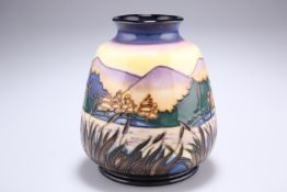 A MOORCROFT 'SPIRIT OF THE LAKES' VASE
