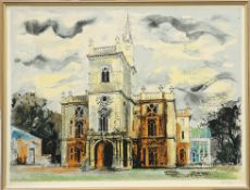 "JOHN PIPER (BRITISH, 1903-1992), FLINTHAM HALL FROM ""VICTORIAN DREAM PALACES"""
