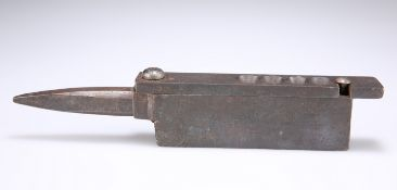 A HEAVY STEEL BULLET CASTING TOOL