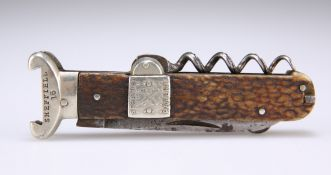 A SPRATTS PATENT SPORTSMAN'S POCKET-KNIFE
