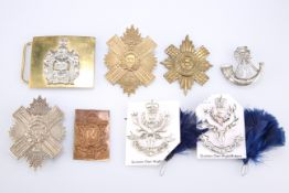 OFFICERS' AND OTHER RANKS' PATTERN GLENGARRY BADGES