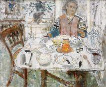 "JOHN G. BOYD (SCOTTISH, 1940-2001), ""BREAKFAST TIME"""