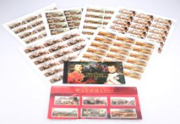 A PORTFOLIO OF UNISSUED, UNUSED POSTAGE STAMPS