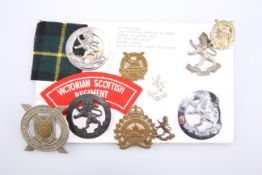 BADGES RELATING TO THE VICTORIAN SCOTTISH REGIMENT OF AUSTRALIA