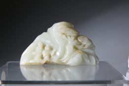 A CHINESE JADE CARVING