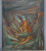 FOLLOWER OF ARTHUR BOYD (1920-1999), FIGURES IN WOODLAND