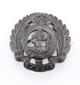 A PRE-1881 INTRICATELY CARVED SWEETHEART BROOCH