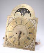 AN 18TH CENTURY 8-DAY LONGCASE CLOCK MOVEMENT