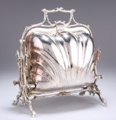 A VICTORIAN SILVER-PLATED STANIFORTH'S PATENT MUFFIN DISH