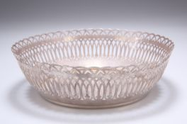 A FRENCH SILVER-PLATED BOWL, ERCUIS