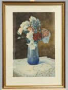 A. FOURNERIE, STILL LIFE OF A VASE OF FLOWERS