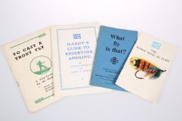 FOUR BOOKLETS ON FLY FISHING