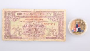 A BRITISH ARMED FORCES BANK NOTE