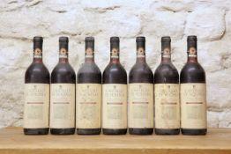 7 BOTTLES CASTELLO VOLPAIA CHIANTI CLASSICO RISERVA 1979