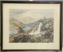 J.B. PYRE (19TH CENTURY), SET OF FIVE HAND TINTED LITHOGRAPHIC PRINTS
