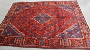 A PERSIAN KASHGAI TRIBAL CARPET
