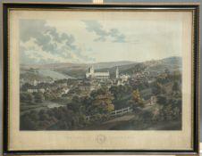 """AFTER JOHN HEAVISIDE CLARK (1771-1863), """"THE TOWN OF JEDBURGH"""""""