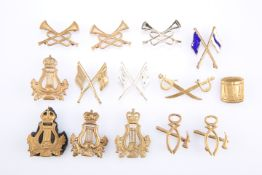 A QUANTITY OF ARMY TRADE/SKILLS BADGES