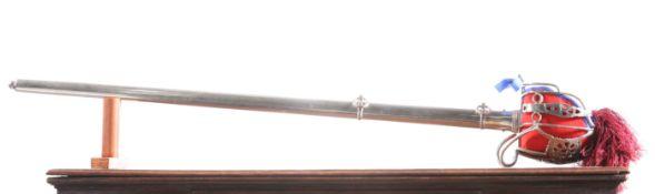 A DOUBLE FULLERED SCOTTISH BASKET HILT SWORD