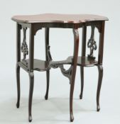 A VICTORIAN MAHOGANY OCCASIONAL TABLE