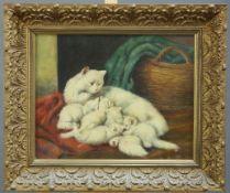ROBERT KINGMAN (20TH CENTURY), PERSIAN CAT AND KIT