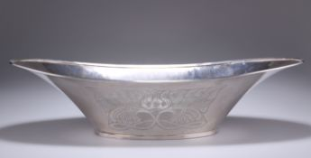 HENRY GEORGE MURPHY (1884-1939), A FALCON WORKS SILVER FRUIT BOWL