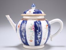 AN 18TH CENTURY CHINESE FAMILLE ROSE TEAPOT