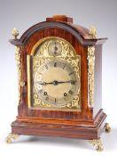 WINTERHALDER & HOFFMEIER, A SIMULATED ROSEWOOD BRACKET CLOCK