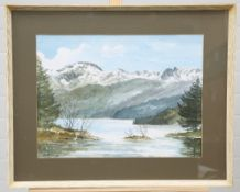 E. GRAIG HALL (20TH CENTURY), 'ULLSWATER FROM BELOW DOCKRAY' AND 'CAIRNGORMS'