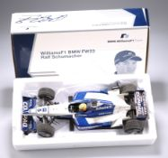 A WILLIAMS F1 BMW FW23 RALF SCHUMACHER MINICHAMPS MODEL