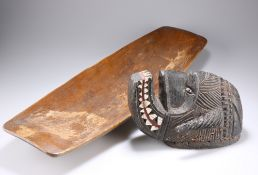 TRIBAL: A MASK AND A BOWL