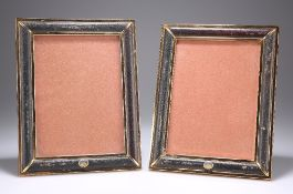 GUCCI: A PAIR OF EASEL PHOTOGRAPH FRAMES
