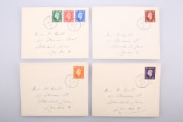 FOUR FIRST DAY COVERS 1937.S