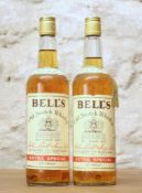 2 BOTTLES FROM 1960'S BELLS 'EXTRA SPECIAL' SCOTCH WHISKY 70 PROOF 262/3 Fl.Ozs