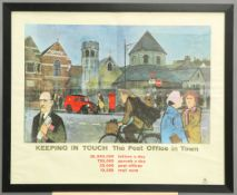 """A LARGE GPO POSTER, """"KEEPING IN TOUCH 