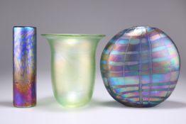 THREE 'GLASFORM' VASES BY JOHN DITCHFIELD