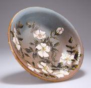 A LINTHORPE POTTERY BOWL BY CHRISTOPHER DRESSER (1834-1904)