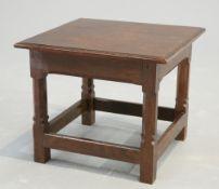 GORDON RUSSELL, A COTSWOLD SCHOOL ENGLISH OAK LOW TABLE