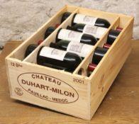 11 BOTTLES (IN OWC) CHATEAU DUHART MILON GRAND CRU CLASSE PAUILLAC