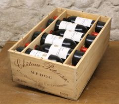 12 BOTTLES (IN OWC) CHATEAU POTENSAC CRU BOURGEOIS EXCEPTIONNEL MEDOC 2003
