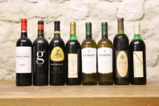 8 BOTTLES MIXED LOT GOOD DRINKING WINES