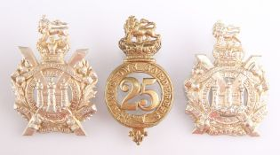AN OTHER RANKS' PATTERN PRE 1881 BRASS GLENGARRY BADGE
