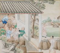 CHINESE SCHOOL, THE TEA PACKERS